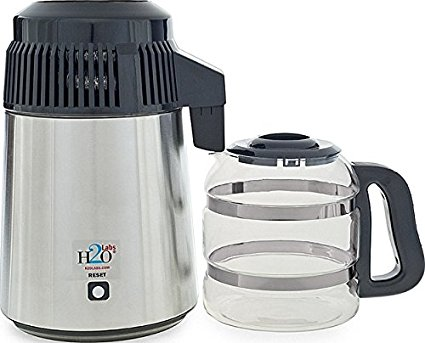 Best In Class Stainless Steel Water Distiller By H2o Labs